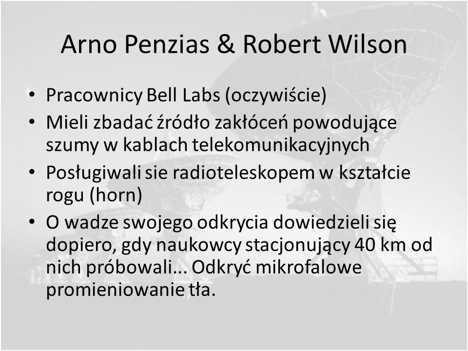 Odkrycie Promieniowania Reliktowego Krótka historia teorii dotyczących kosmicznego promieniowania tła: Kanadyjski astronom, Andrew McKellar, specjaliz