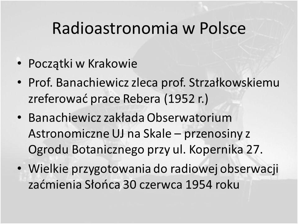 Sygnał zebrany podczas obserwacji pierwszego pulsara