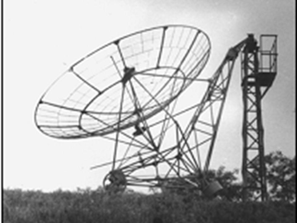 Radioastronomia w Polsce Prace nad aparaturą wykonują Czyżewski, Strzałkowski i de Mezer Pomiary średniej jakości... Ale nasze!