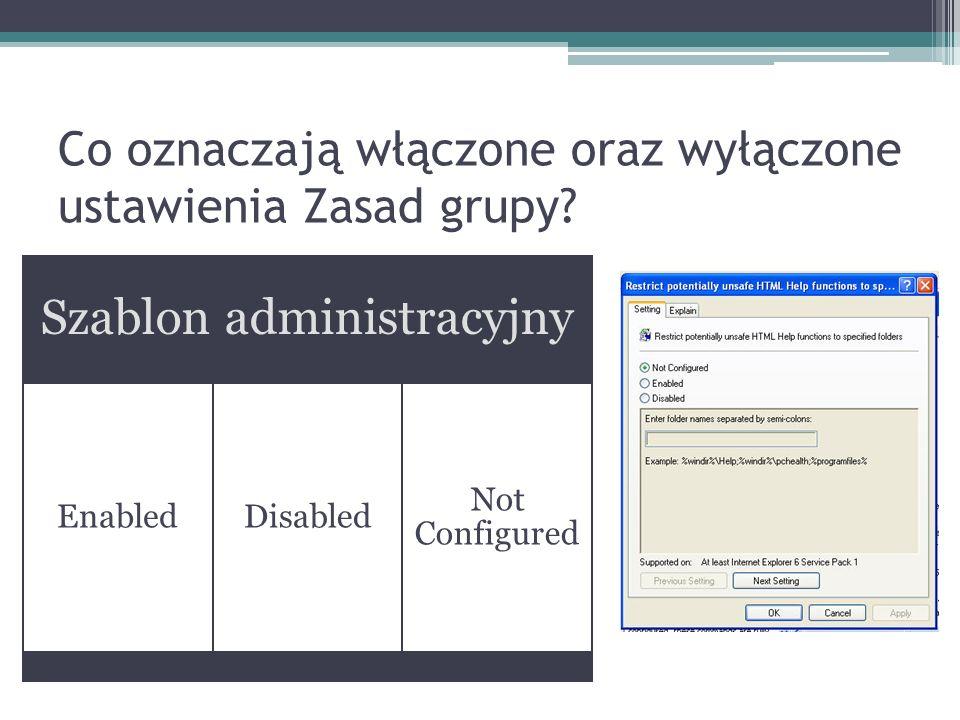 USMT – migrowanie...cd Jak migrować konta użytkowników.
