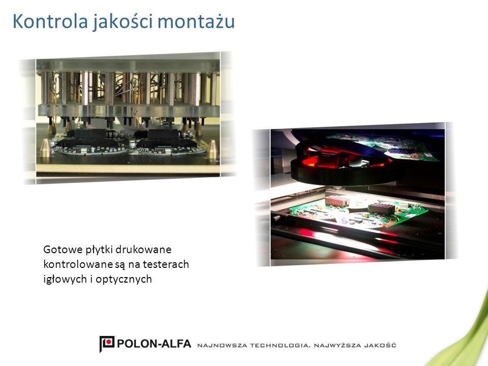 Montaż automatyczny – lakierowanie płytek Lakierowanie płytek odbywa się w nowoczesnym i precyzyjnym automacie