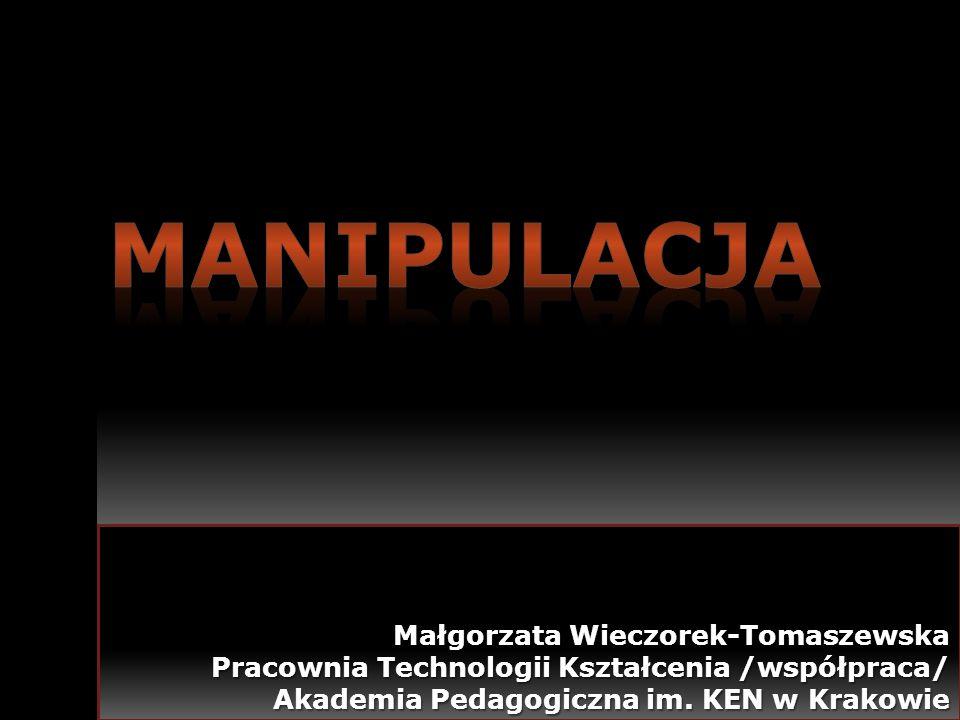 Małgorzata Wieczorek-Tomaszewska Pracownia Technologii Kształcenia /współpraca/ Akademia Pedagogiczna im. KEN w Krakowie