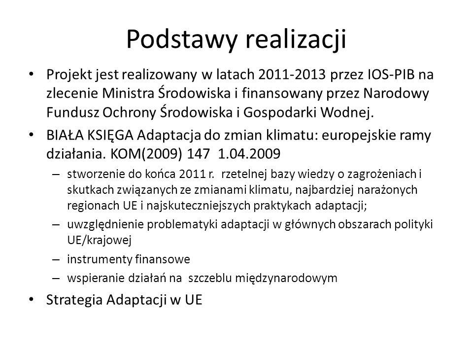Liczba dni upalnych (T max 30 o C) w Polsce