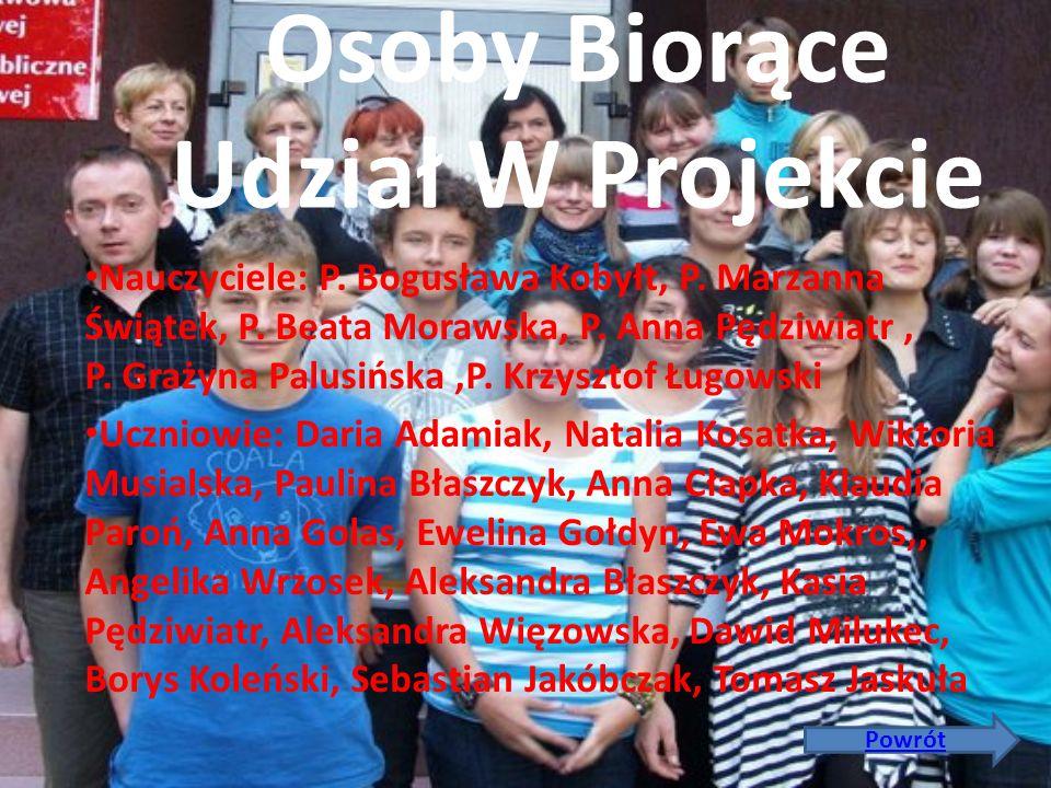 Sokoły biorące udział w projekcie: Austria- Abteigymnasium Sekau Polska-Zespół Szkół w Klonowej Portugalia- Escola Secundaria eng. acacio calazans dua