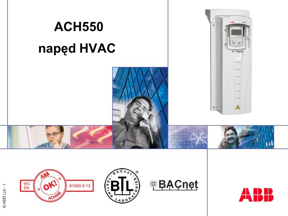© ABB Ltd - 1 ACH550 napęd HVAC