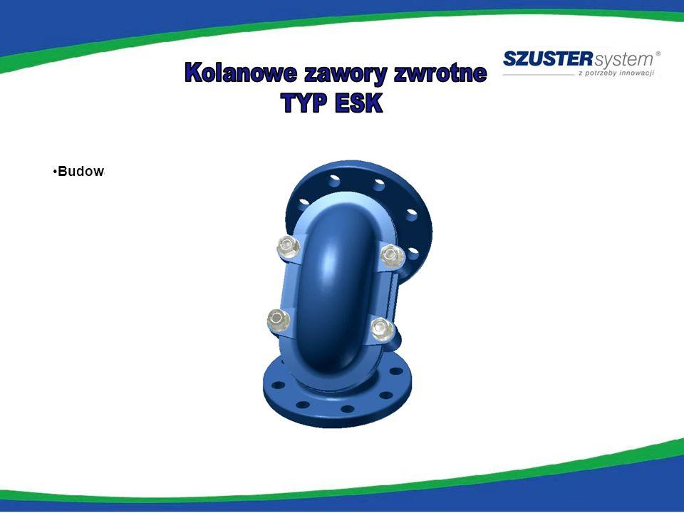 tradycyjne rozwiązanie- zawór + kolano kolanowy zawór zwrotny SZUSTER System X 24 X 16