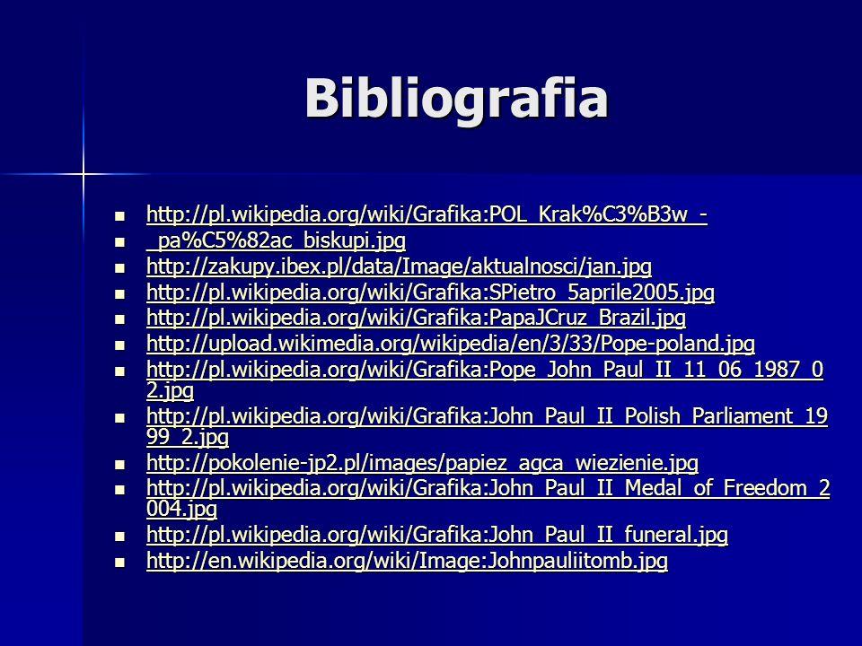 Bibliografia http://pl.wikipedia.org/wiki/Grafika:POL_Krak%C3%B3w_- http://pl.wikipedia.org/wiki/Grafika:POL_Krak%C3%B3w_- http://pl.wikipedia.org/wik