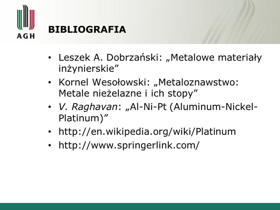 BIBLIOGRAFIA Leszek A.