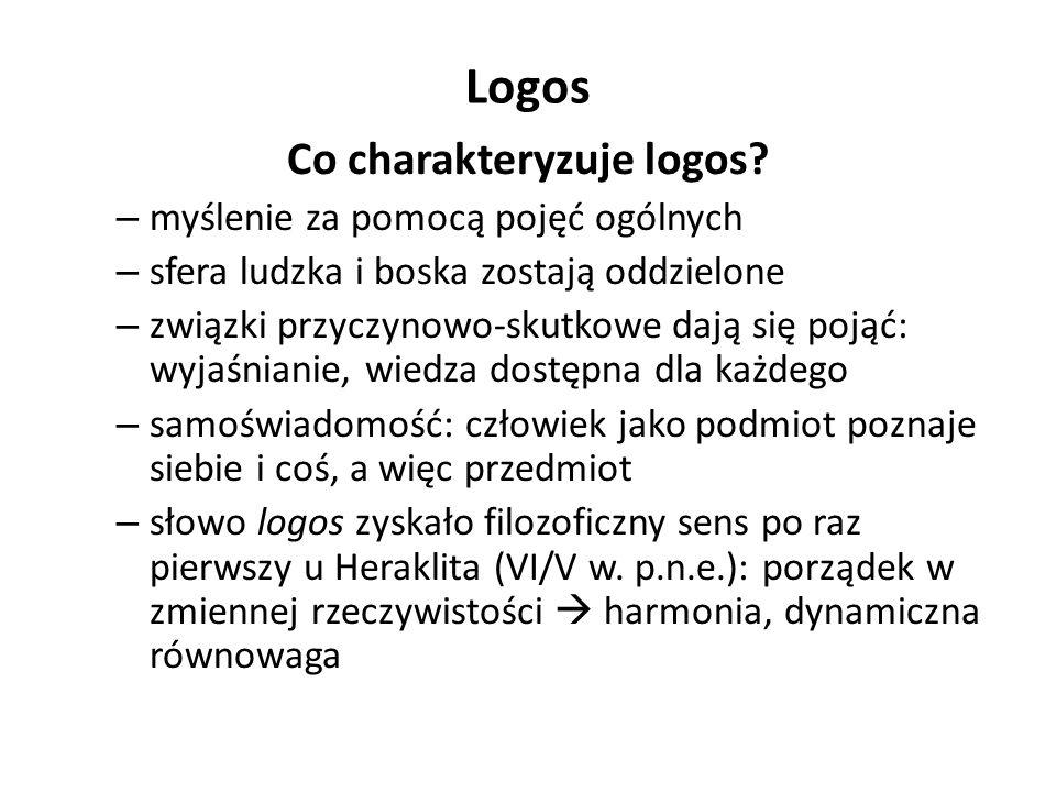 Logos Co charakteryzuje logos.