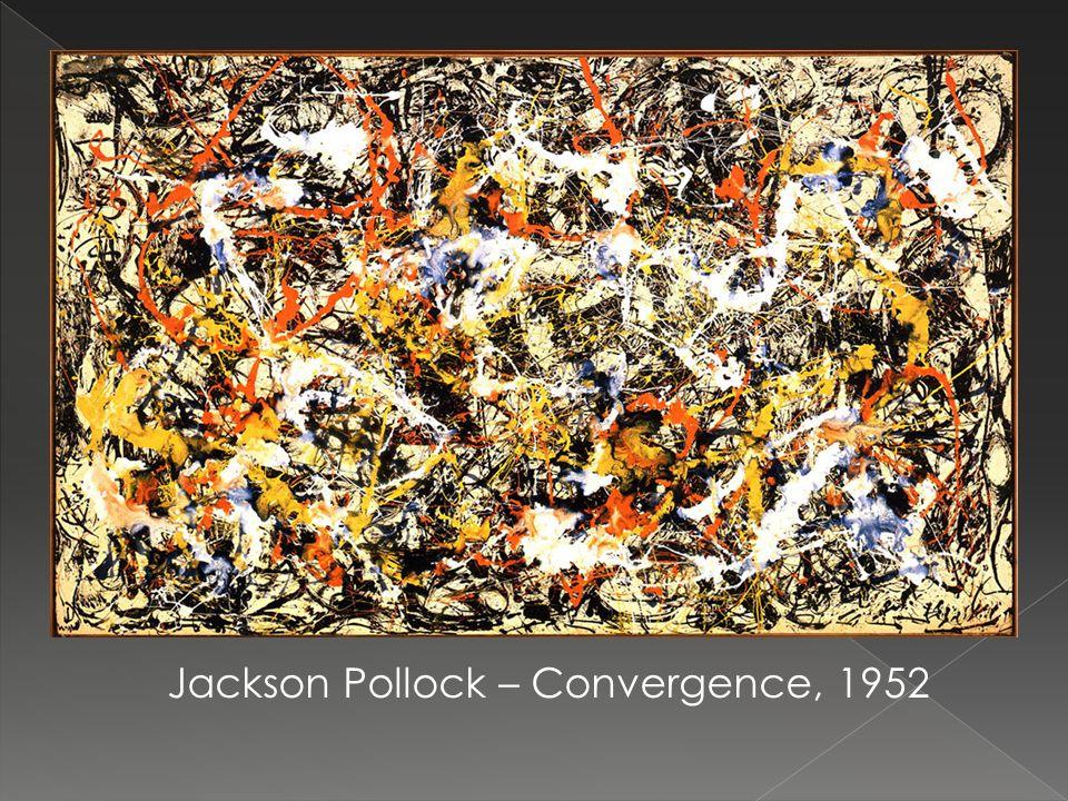 Jackson Pollock – Convergence, 1952