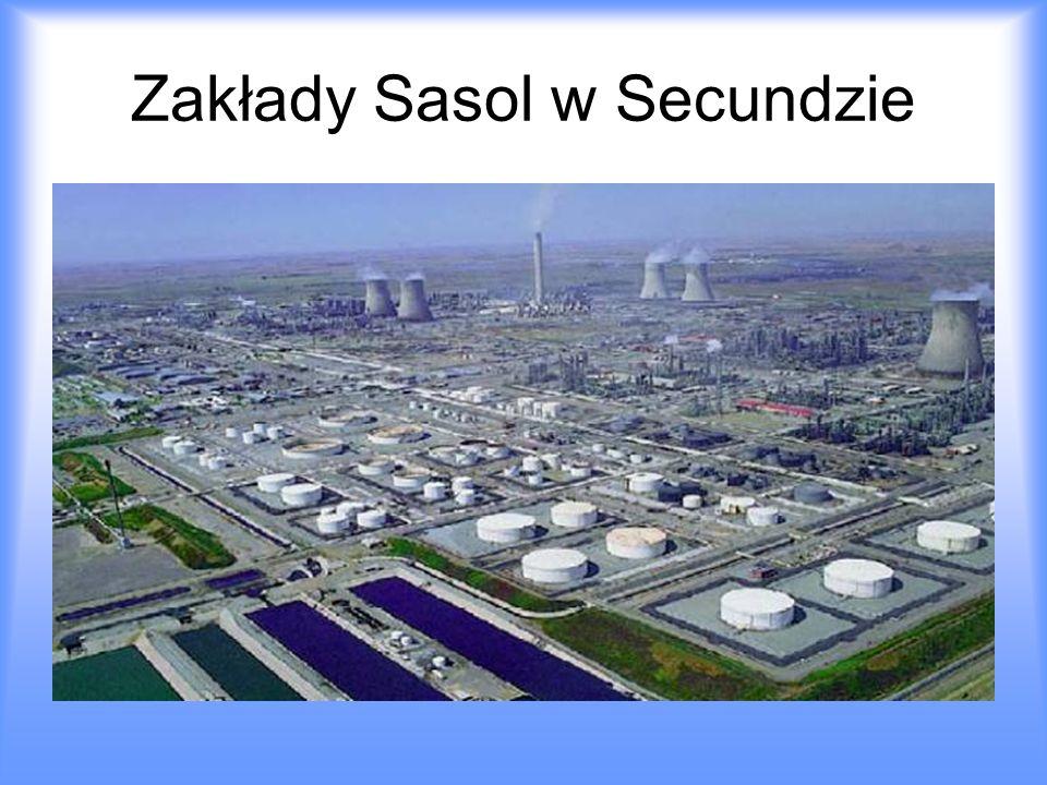 Zakłady Sasol w Secundzie