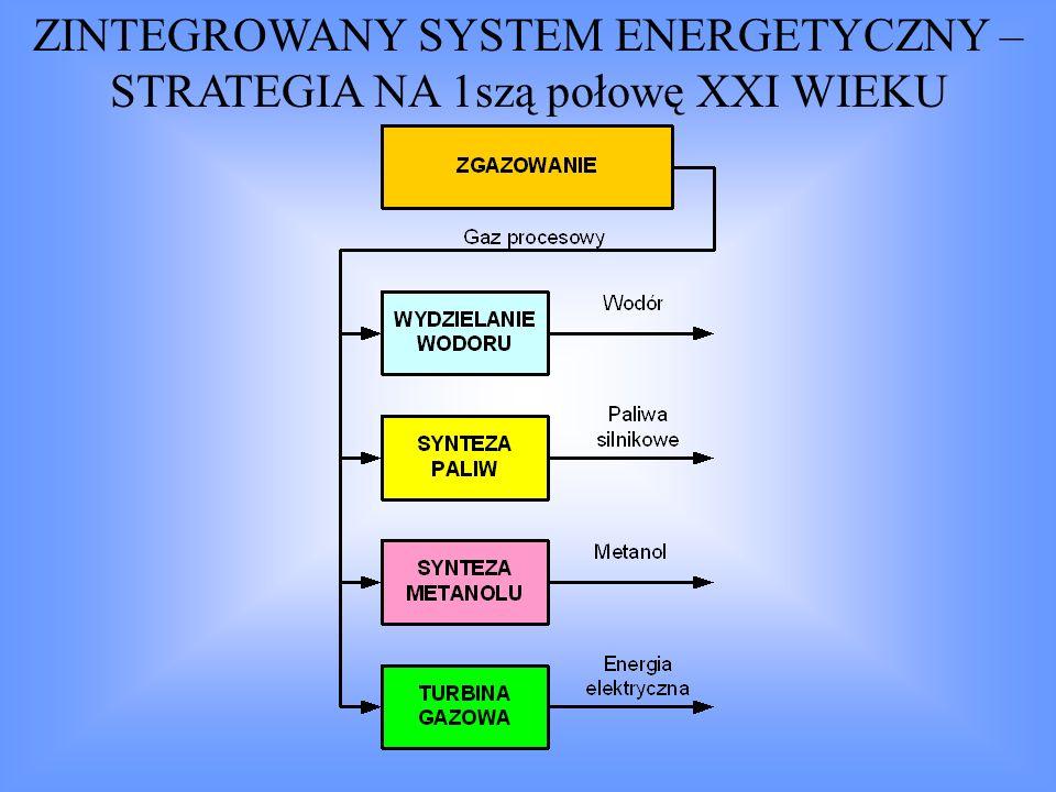 ZINTEGROWANY SYSTEM ENERGETYCZNY – STRATEGIA NA 1szą połowę XXI WIEKU