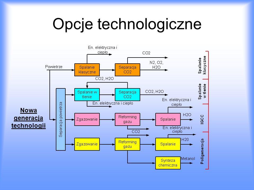 Opcje technologiczne Nowa generacja technologii