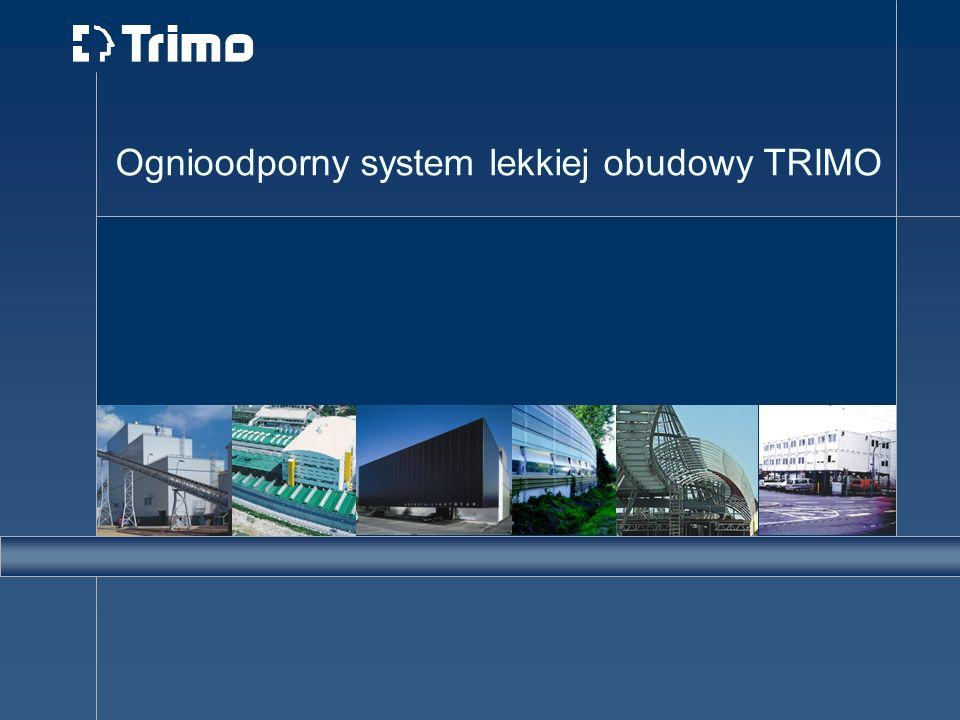 Ognioodporny system lekkiej obudowy TRIMO