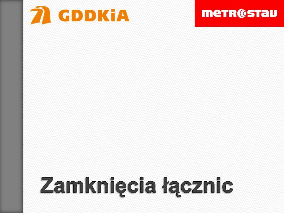 Wjazd z ul.Modlińskiej na most Grota-Roweckiego (łącznica w relacji północ–zachód) Wjazd z ul.