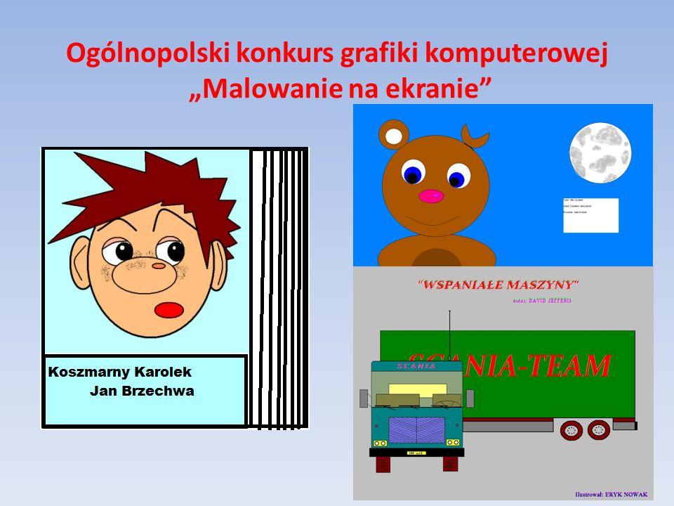 Ogólnopolski konkurs grafiki komputerowej Malowanie na ekranie