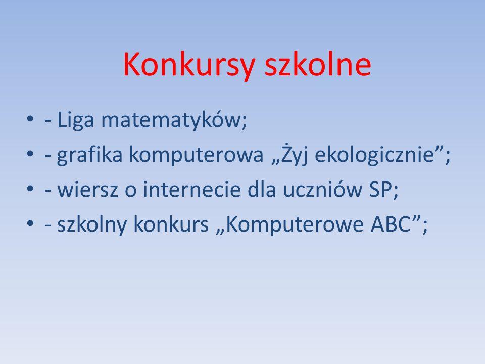 W Lidze Matematycznej mogą uczestniczyć uczniowie ze szkół na terenie powiatu będzińskiego.