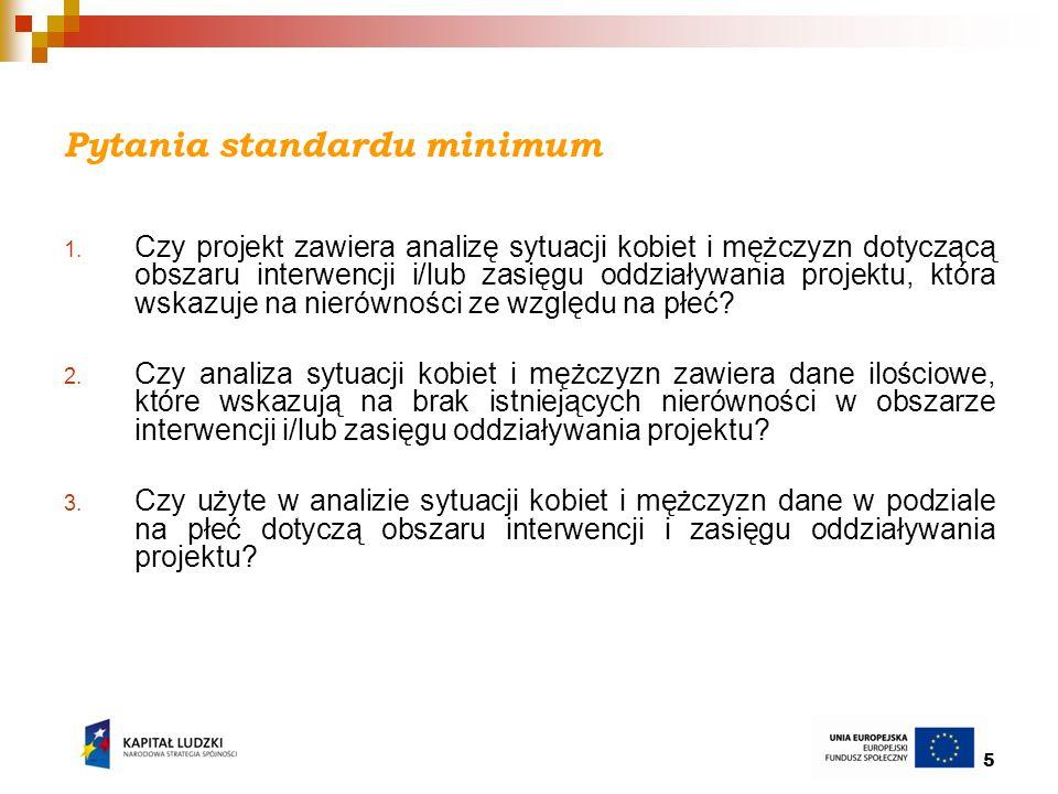 6 Pytania standardu minimum cd.4.