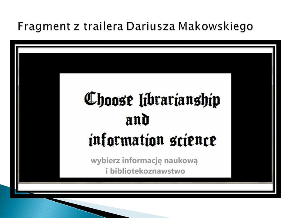 Wystawa materiałów motywujących do czytania, odwiedzania biblioteki i podjęcia studiów na kierunku informacja naukowa i bibliotekoznawstwo (oryginalny pomysł i wykonanie studentów zaangażowanych w realizację Dni Otwartych)