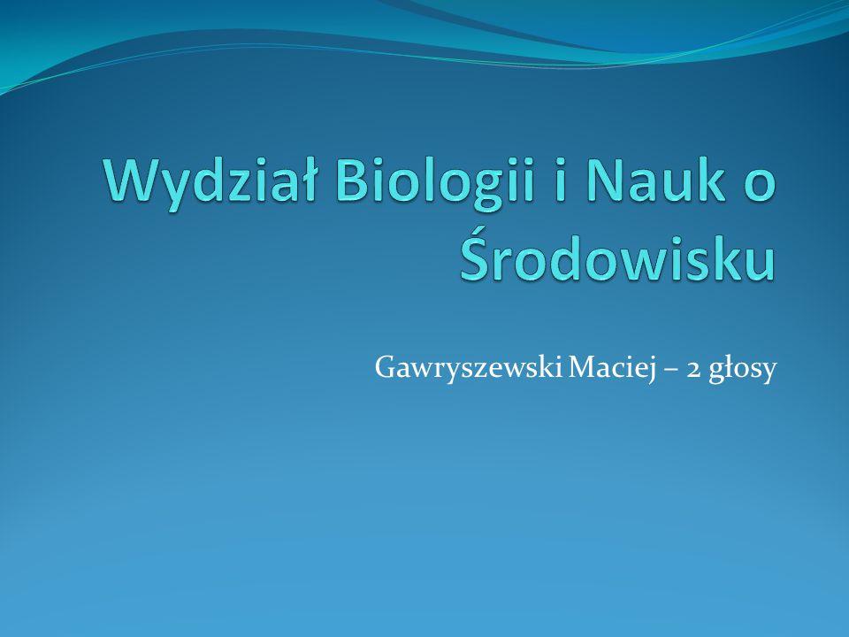 Gawryszewski Maciej – 2 głosy