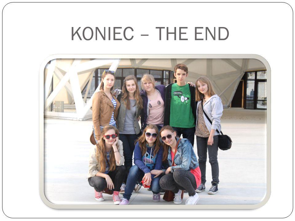 KONIEC – THE END