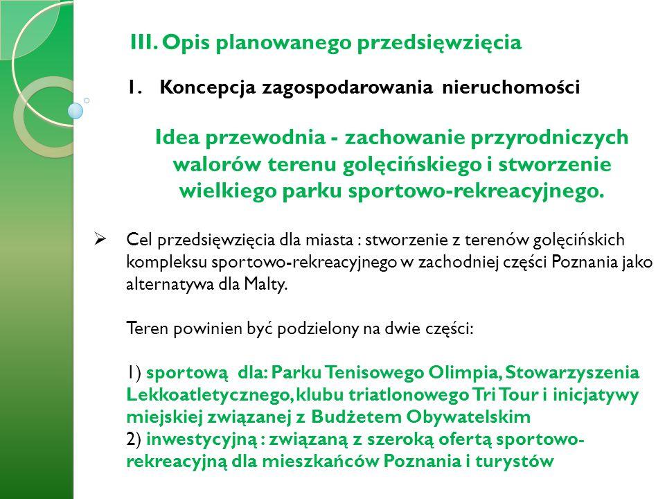 III.Opis planowanego przedsięwzięcia 2.