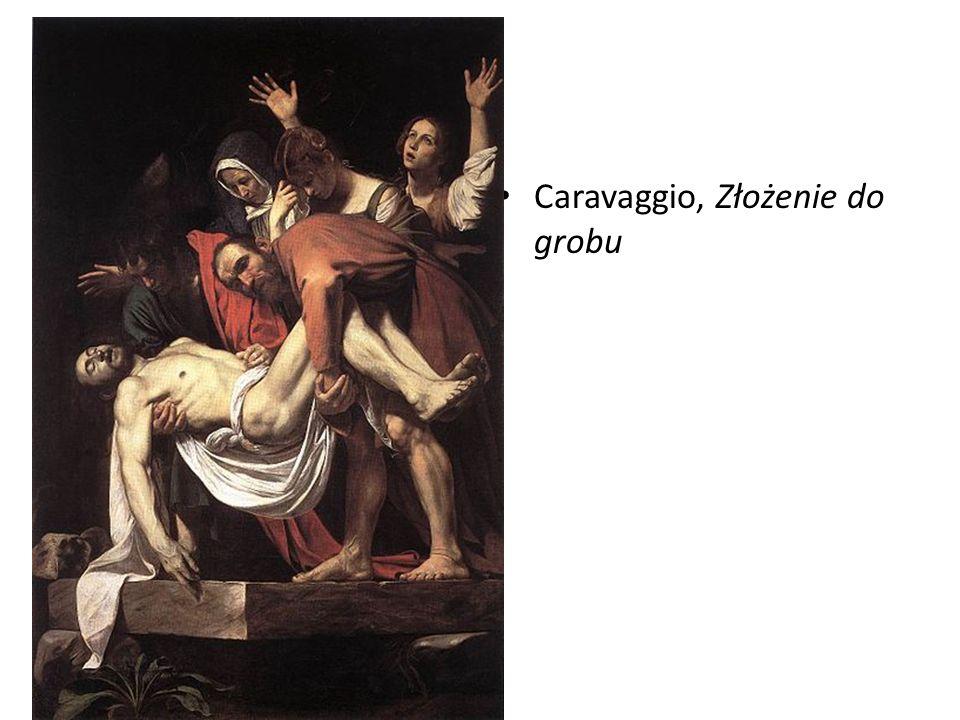 Caravaggio, Złożenie do grobu