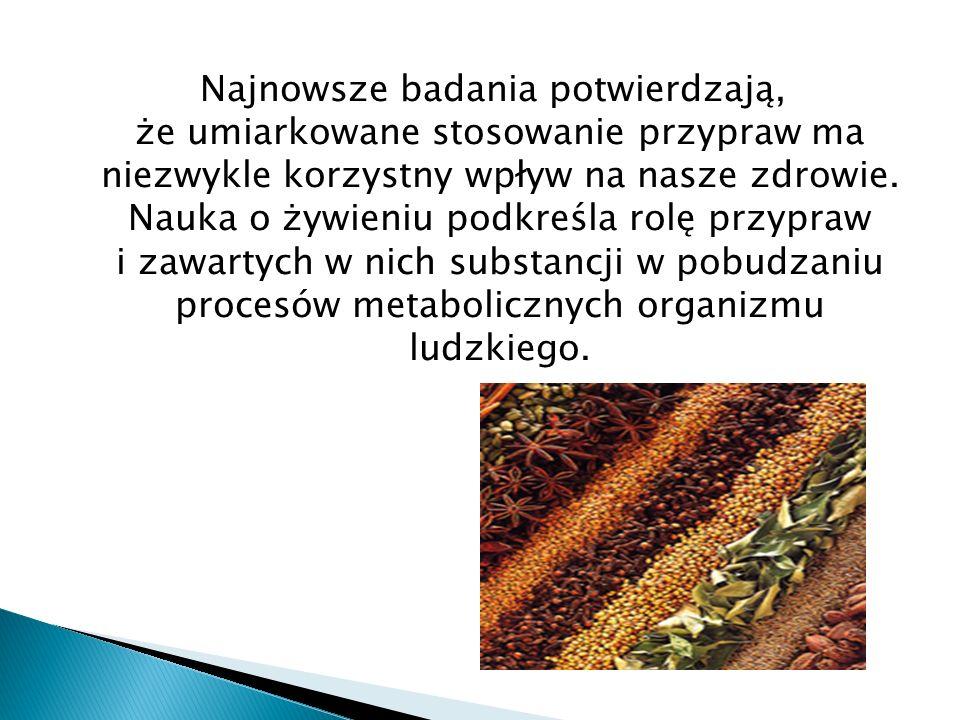 Sztuka kulinarna: Imbir jest przyprawą znaną w wielu krajach świata.