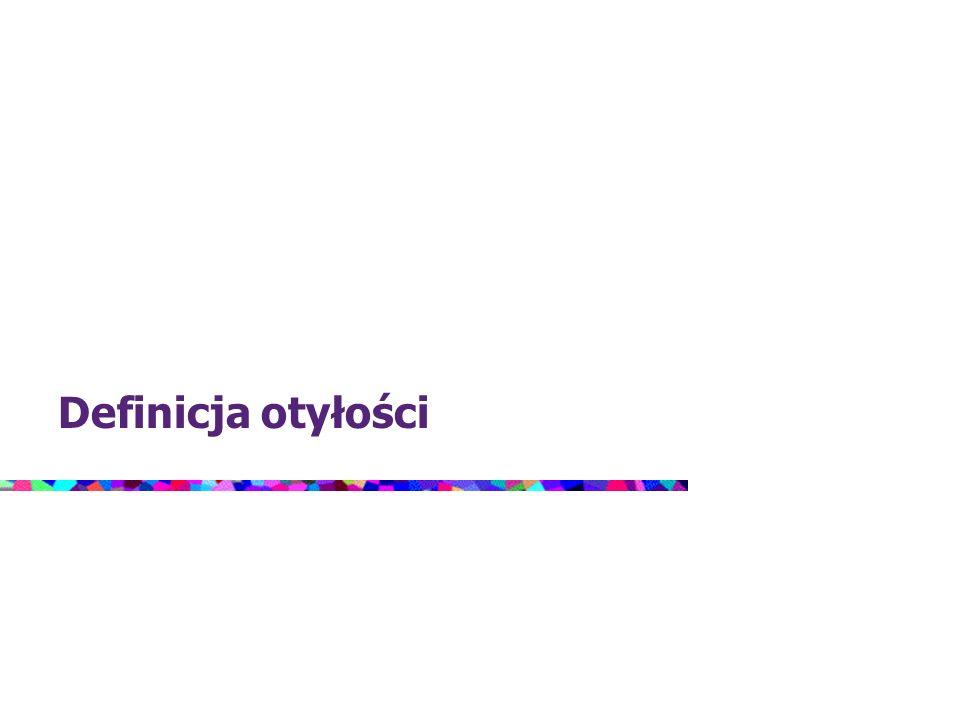 W zależności od rozmieszczenia nadmiaru tkanki tłuszczowej rozróżnia się dwa typy otyłości: otyłość brzuszną (androidalną, wisceralną, centralną), gdy tkanka ta nagromadzona jest głównie w obrębie jamy brzusznej i nadbrzusza, oraz otyłość pośladkowo-udową (gynoidalną, obwodową), gdy przeważa nagromadzenie tkanki tłuszczowej w okolicy bioder, podbrzusza, ud oraz pośladków.