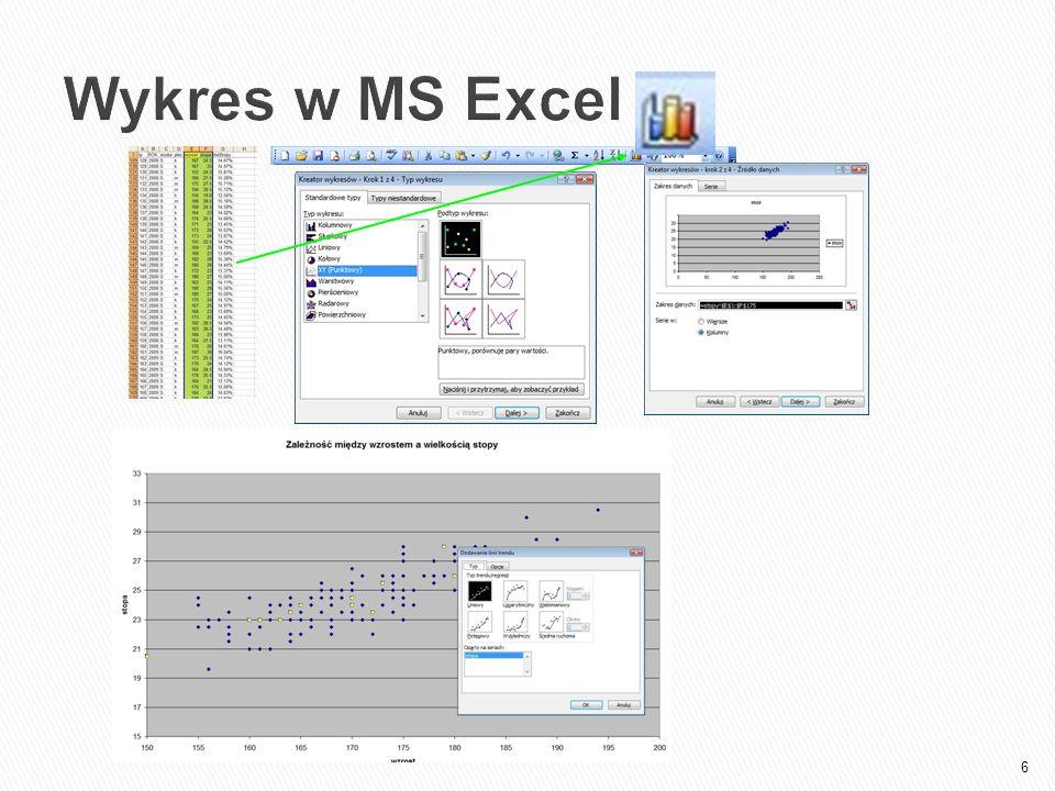 6 Wykres w MS Excel
