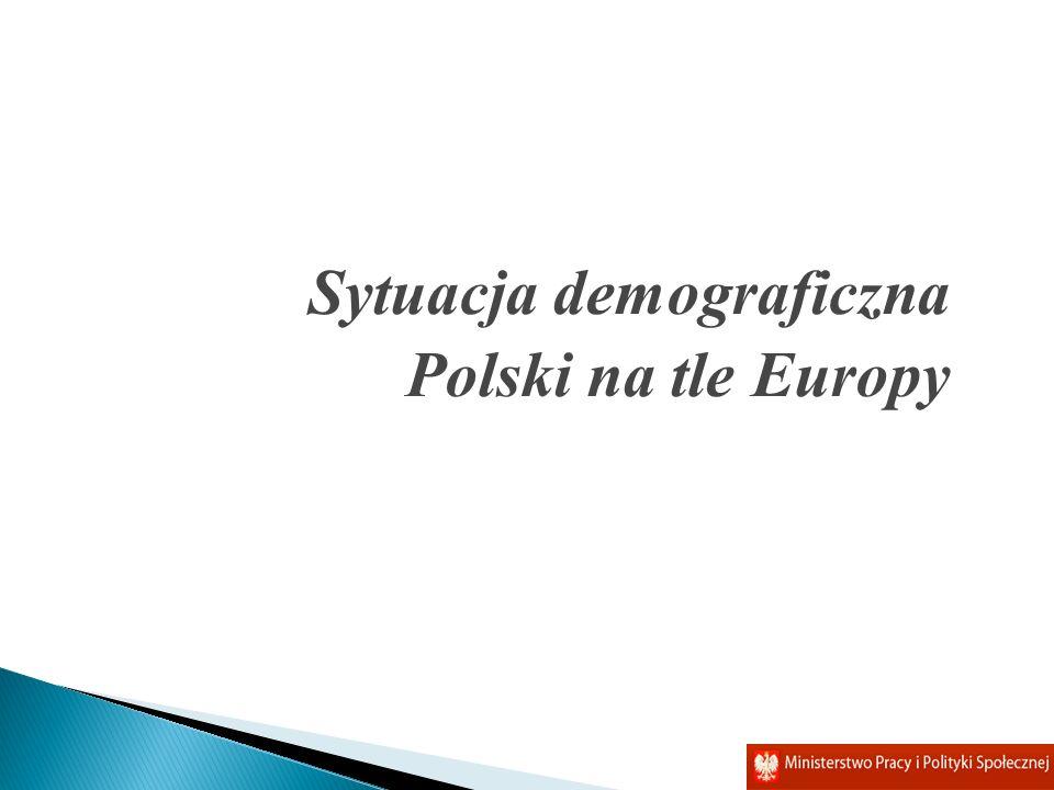 Sytuacja demograficzna Polski na tle Europy