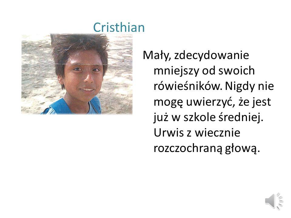 Nasi podopieczni W kwietniu otrzymaliśmy list od wolontariuszki Anny Jałoszewskiej, w którym przedstawia nam naszych podopiecznych z Piura: Cristhiana