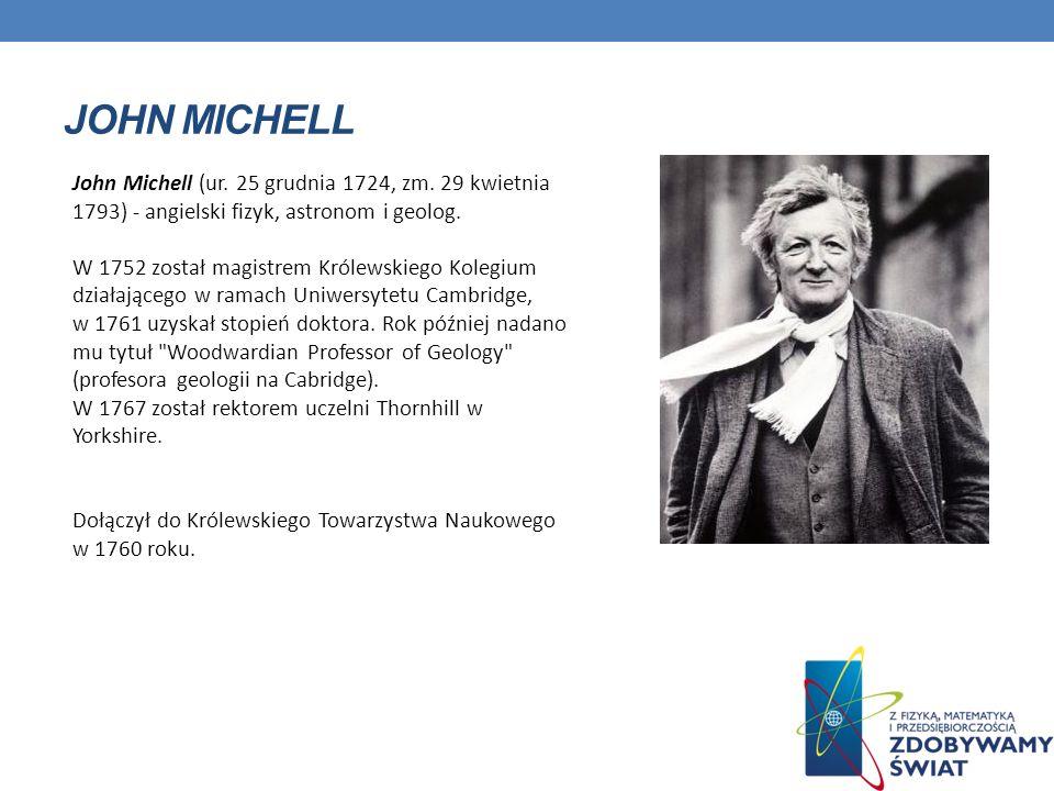 JOHN MICHELL John Michell (ur.25 grudnia 1724, zm.