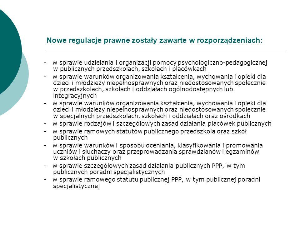 Działania w przedszkolach i gimnazjach W terminie do 31 marca 2011 r.