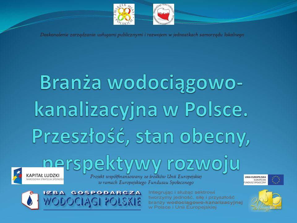 Nakłady na środki trwałe: gospodarka ściekowa i ochrona wód (mln zł)