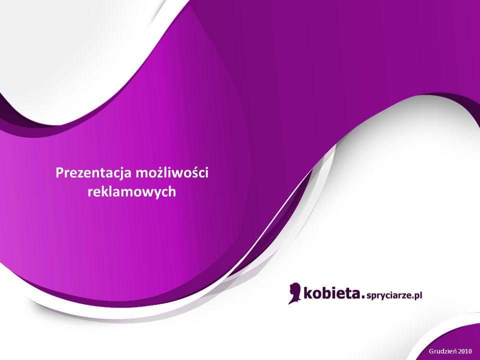 Prezentacja możliwości reklamowych Grudzień 2010