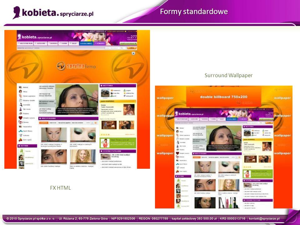 FX HTML Surround Wallpaper Formy standardowe