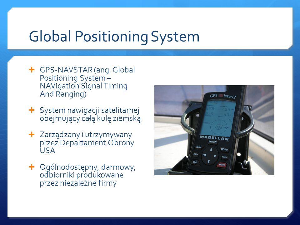 Geneza systemu GPS Zaczęło się od NAVSTAR w latach 70.