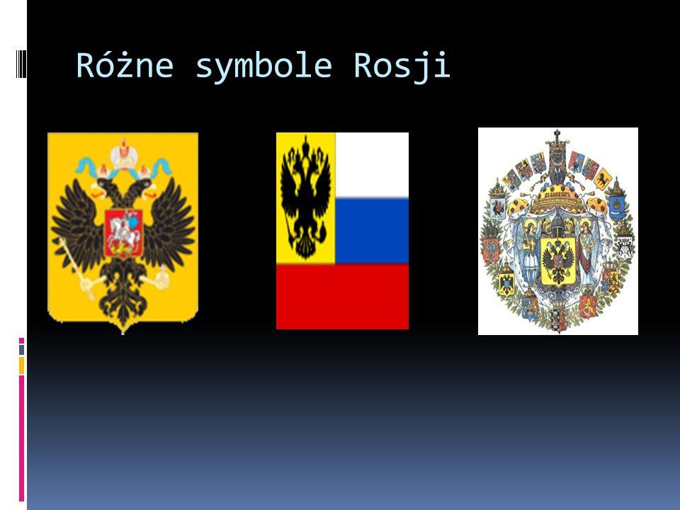 Różne symbole Rosji