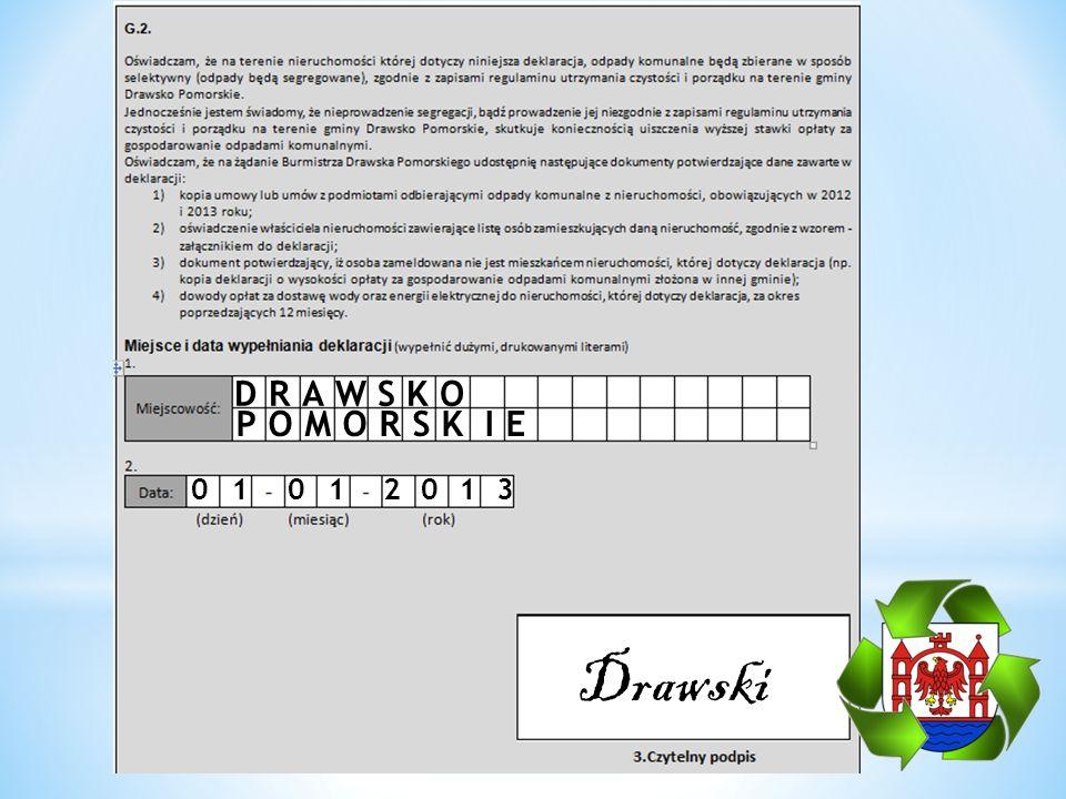 DRAWSKO 01 01 2013 Drawski POMORSK IE
