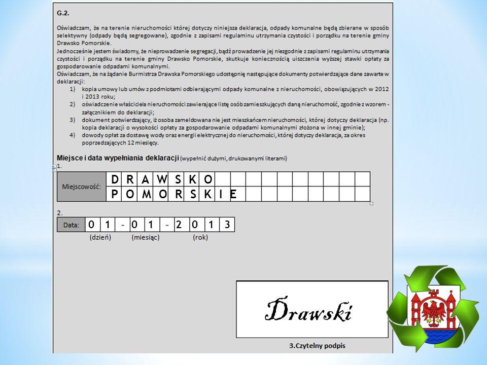 DRAWSKO POMORSKIE 01 01 2013 Drawski