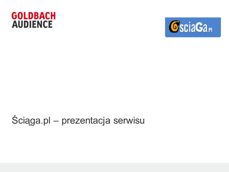 >> Sciaga.pl Prezentacja ogólna serwisu