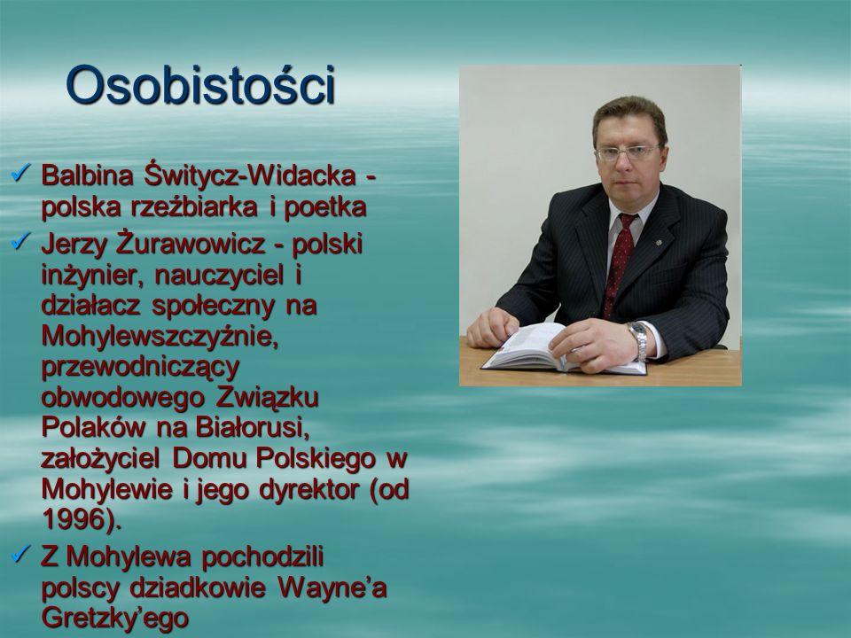 Osobistości Balbina Świtycz-Widacka - polska rzeźbiarka i poetka Balbina Świtycz-Widacka - polska rzeźbiarka i poetka Jerzy Żurawowicz - polski inżyni