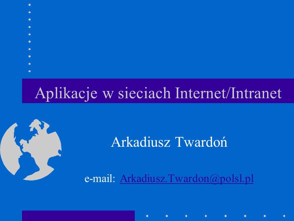 e-mail: Arkadiusz.Twardon@polsl.pl11 Maska podsieci Pytanie:Pytanie: –Po co.