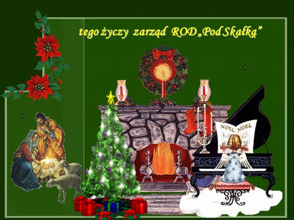 W wigilijną noc, gdy śniegu napada moc, niech Mikołaj Święty przyniesie prezenty
