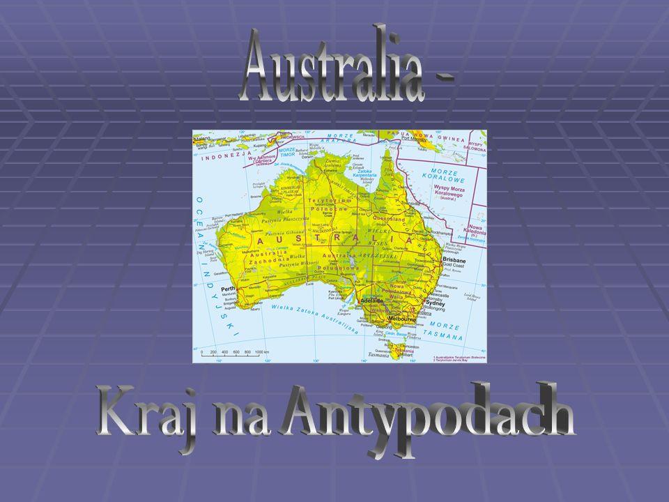 1) Informacje o krajuInformacje o kraju 2) Pochodzenie nazwyPochodzenie nazwy 3) Odkrycia i badania AustraliiOdkrycia i badania Australii 4) Geografia AustraliiGeografia Australii 5) DemografiaDemografia 6) GospodarkaGospodarka 7) TerytoriumTerytorium 8) Wielka Rafa KoralowaWielka Rafa Koralowa 9) Rozwój Wielkiej Rafy KoralowejRozwój Wielkiej Rafy Koralowej 10) AborygeniAborygeni 11) Fauna AustraliiFauna Australii 12) UluruUluru 13) Sydney Opera HouseSydney Opera House 14) XXVII Letnie Igrzyska Olimpijskie XXVII Letnie Igrzyska Olimpijskie 15) Australian OpenAustralian Open 16) Ambasada Australii w PolsceAmbasada Australii w Polsce 17) WykonanieWykonanie