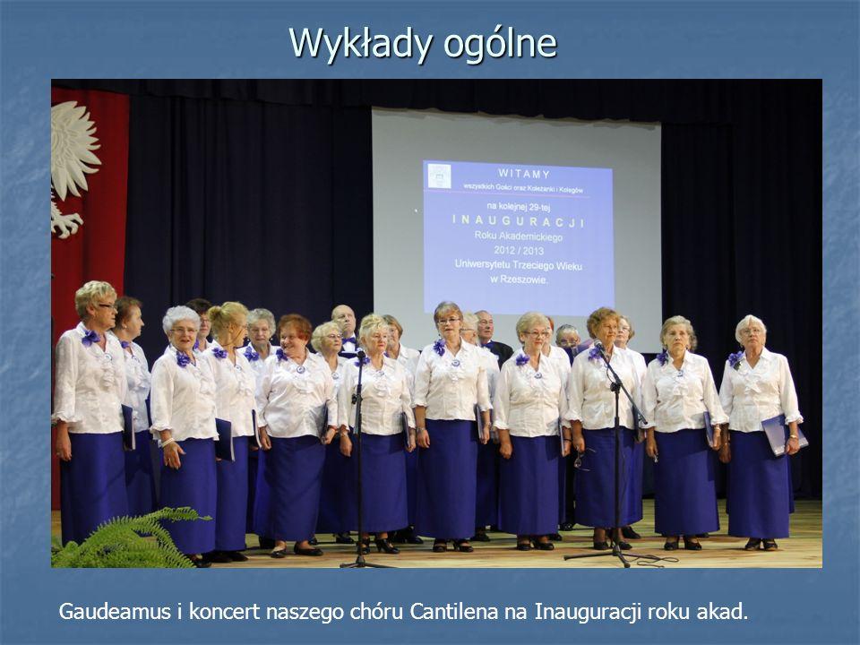 Wykłady ogólne Gaudeamus i koncert naszego chóru Cantilena na Inauguracji roku akad.