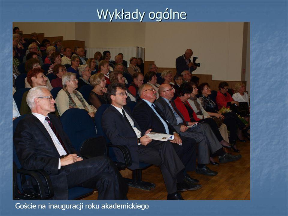 Goście na inauguracji roku akademickiego