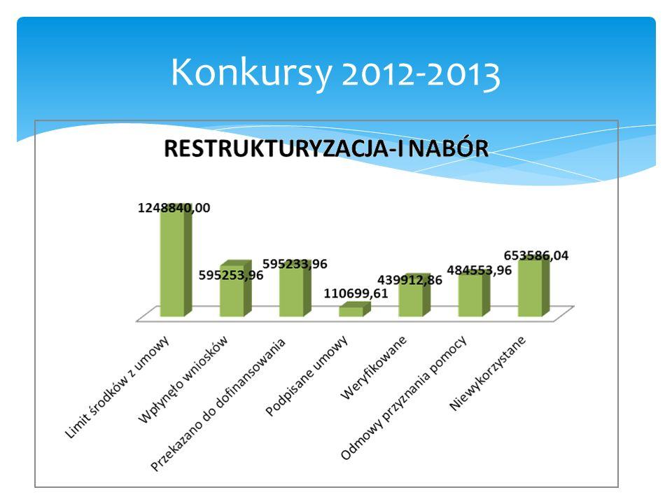 Konkursy 2012-2013