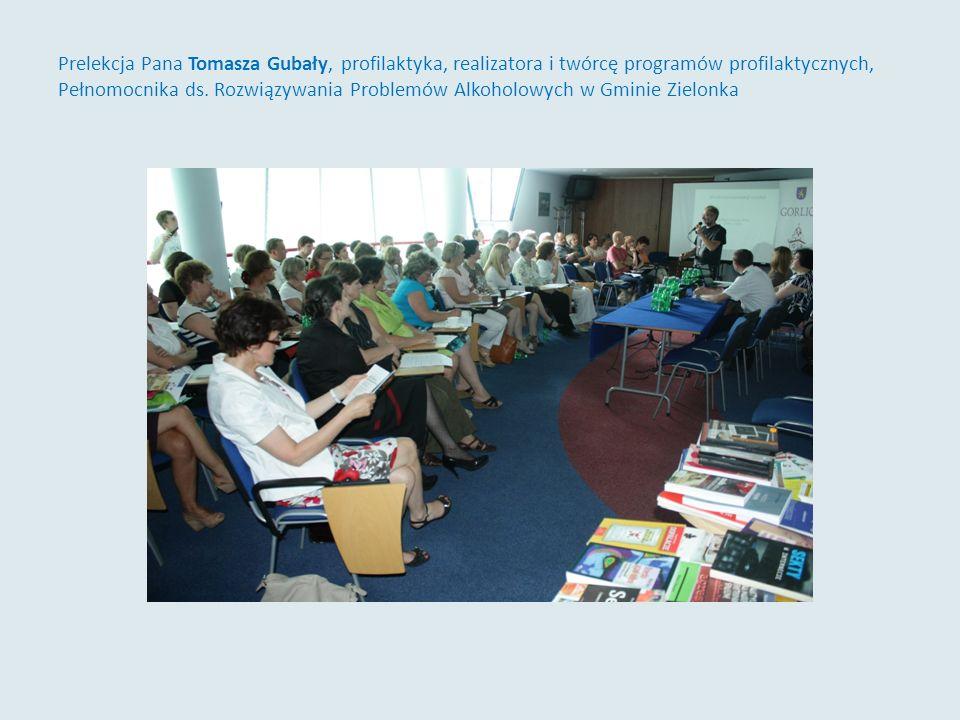 Programy profilaktyczne realizowane w Gorlicach – prelekcja Piotra Gajdy, Pełnomocnika Burmistrza ds.